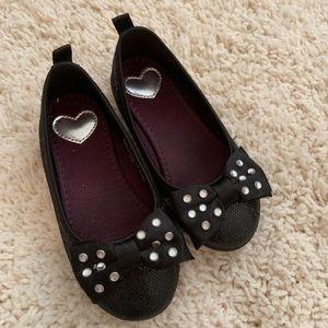 H&M studded black shoes